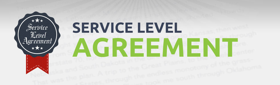 Service Level Agreement – Service Level Agreement